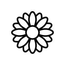 Fragrant Chrysanthemum Icon Ve...