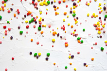 Rainbow Colored Candy Sprinkle...