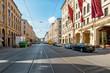 Leinwanddruck Bild - Maximilianstraße in München - Deutschland
