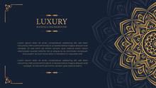 Luxury Mandala With Royal Gold...