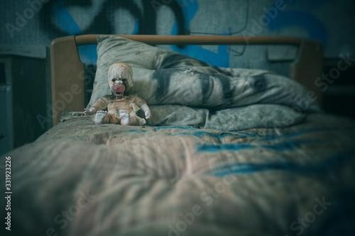 horror doll 7 Fototapet