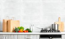 Contemporary Kitchen Front Vie...