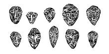 Endangered Ancient Stone Masks...