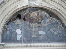 Earthquake Damaged Church In New Zealand