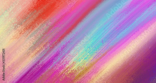 Fototapeta Abstract background, colorful striped design in gold blue red purple pink and yellow layout with texture, vibrant stripes and colors  obraz