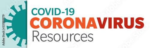 Photo Covid-19 Coronavirus Resources Graphic
