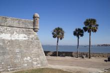 The Castillo De San Marcos Is ...