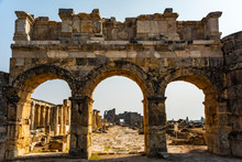 Hierapolis Ancient City Ruins ...