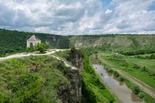 Old Orhei Monastery (Orheiul Vechi) Located In Republic Of Moldova