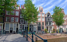 Typical Old Houses Of Amsterda...