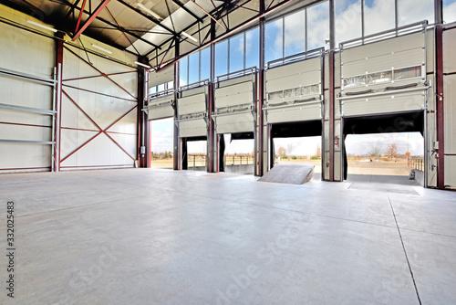 Fototapeta Warehouse.