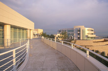 The Getty Center At Sunset, Br...