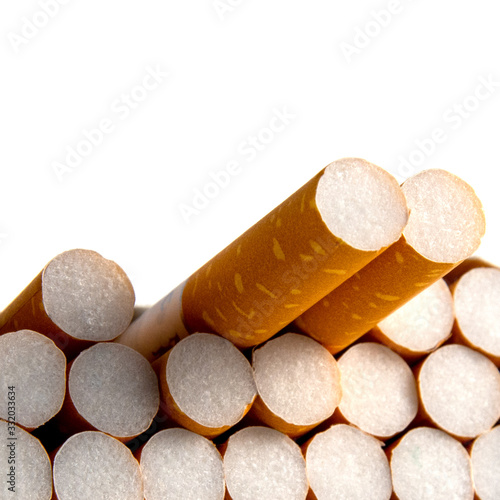 Photo Close-up of filter cigarette