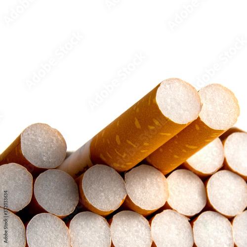 Close-up of filter cigarette Canvas Print