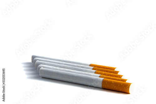 Close-up of filter cigarette Wallpaper Mural