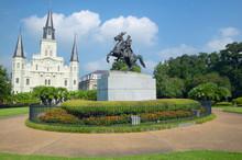 Andrew Jackson Statue & St. Lo.