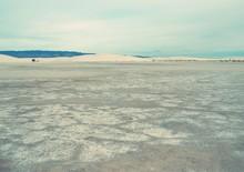 Alkali Flats At White Sands Na...