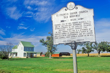Sign For St. Francis Xavier Church, Maryland