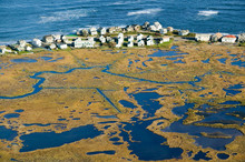 Aerial View Of Marsh And Rache...