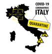 Italy Is Closed For A Coronavirus Covid-19 Quarantine
