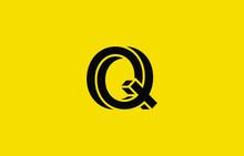 Initial Based Clean And Minimal Logo. Q Letter Creative Fonts Monogram Icon Symbol. Universal Elegant Luxury Alphabet Vector Design