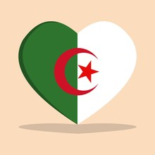 The National Flag Of Algeria L...