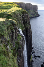 Waterfall On Sky Island