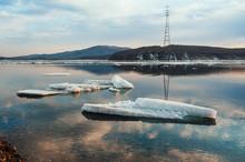 Landscape Of Ice Melting In Ea...