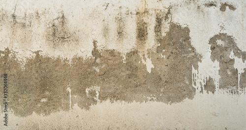 Fondo de pared despintada blanca Wallpaper Mural