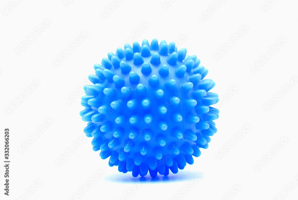 Fototapeta Washing Machine Softener Ball isolate on white