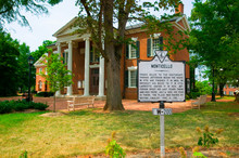 Historic District Of  Charlottesville, Virginia, Home Of President Thomas Jefferson