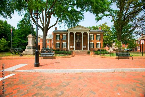 Fotografie, Obraz Historic district of  Charlottesville, Virginia, home of President Thomas Jeffer
