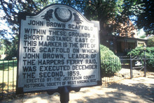 Site Of John Brown's Hanging, ...