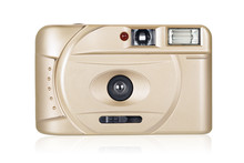Film Compact Camera Isolated O...