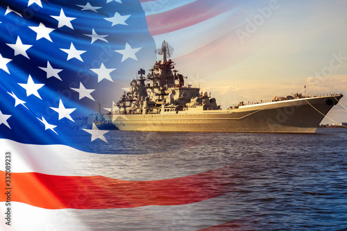 The Navy of the United States of America Canvas Print