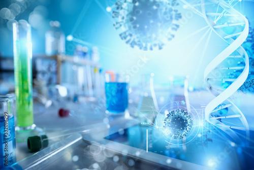 Fotografia Medical science laboratory