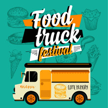 Food Truck Festival Menu Broch...