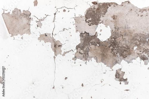 Photo White concrete wall abrasion texture background