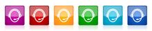 Customer Service Icon Set, Col...