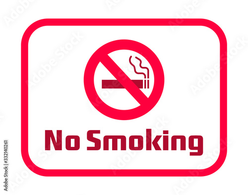 No smoking sign download vector Canvas-taulu