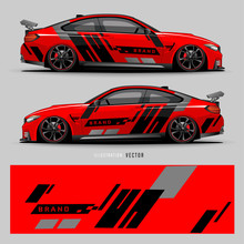 Car Graphic Vector. Abstract L...