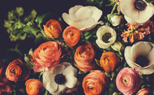 Vintage Bouquet Of Beautiful D...