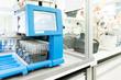 Medical equipment in modern laboratory prepared for coronavirus diagnosis.