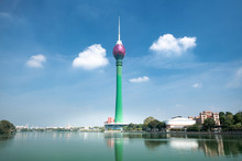 Lotus Tower In Colombo City Sk...