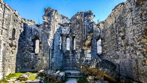 Photo The ruins of Bzyb temple. Abhkazia