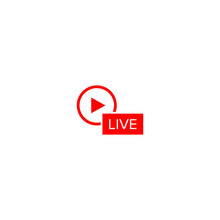 Livestream Icon For Streaming ...