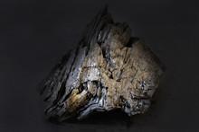 A Black Piece Of A Burnt Piece...