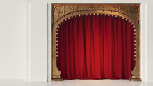 Dark Empty Cabaret Or Comedy C...