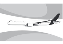 Airbus A350-800.. Flying Airpl...