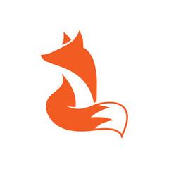 Fox Logo icon Vector Design Template